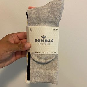 NWT BOMBAS Women's Lightweight Calf 4-Pack -Medium